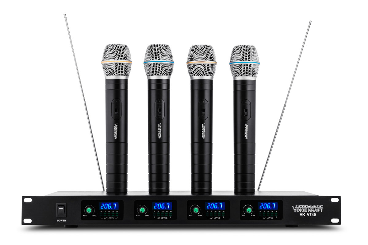 Mikrofonu komplekts VK V-740