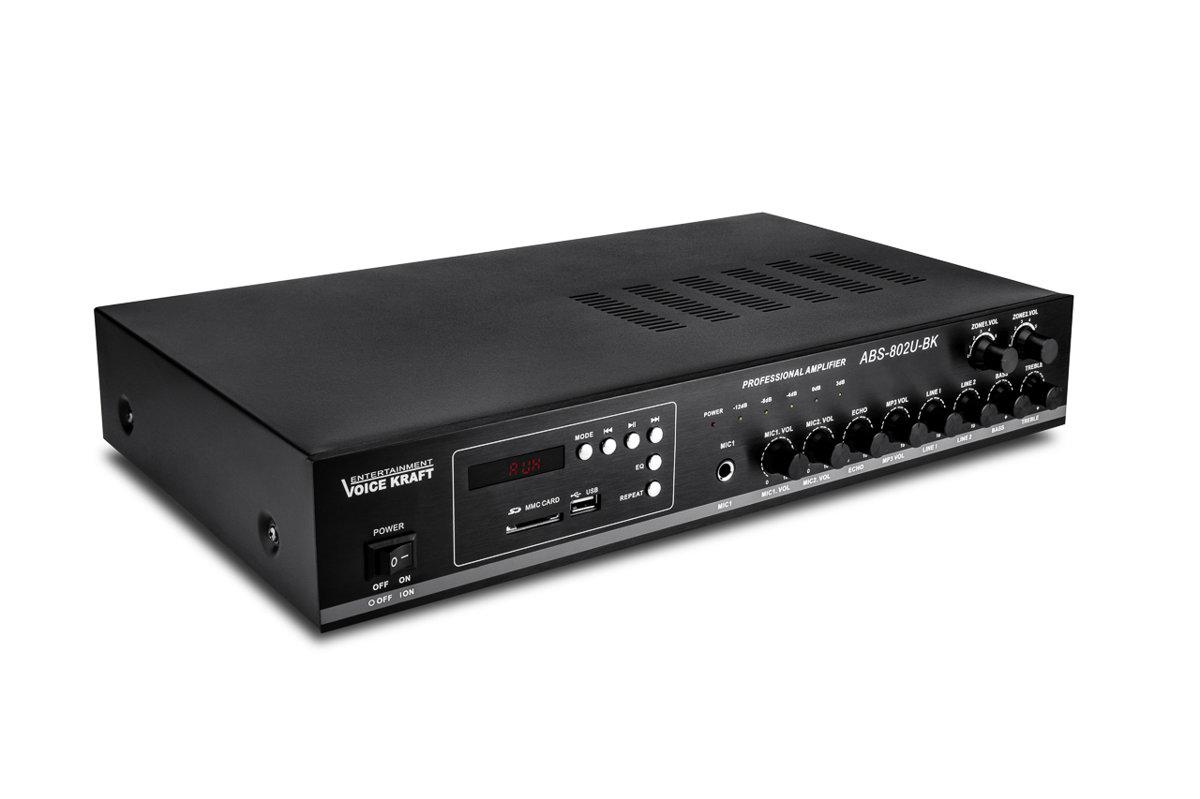 Pastiprinātājs PA 80W ABS-802U