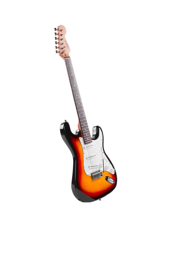 Elektriskā ģitāra Preston Brūna