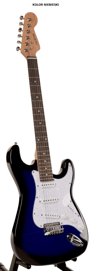 Elektriskā ģitāra Preston Zila