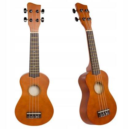 Jasmin U3 brūnas ukuleles komplekts