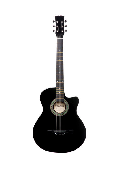 Akustiskā ģitāra A-10 Melna