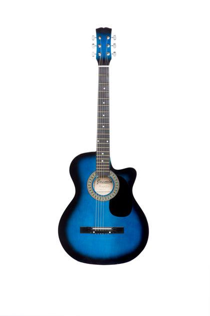 Akustiskā ģitāra A-10 Zila