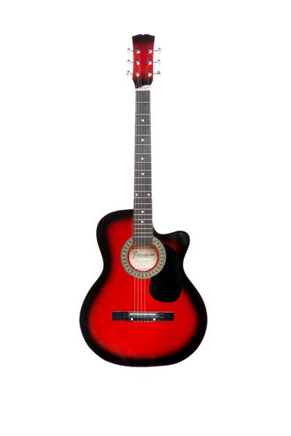 Akustiskā ģitāra A-10 Sarkana