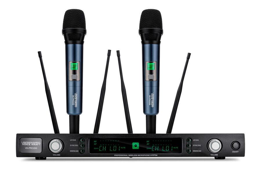 Mikrofonu komplekts VK-PRO 200