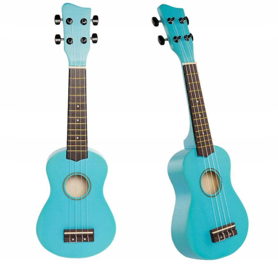 Jasmin U3 Debesu zilās ukuleles komplekts